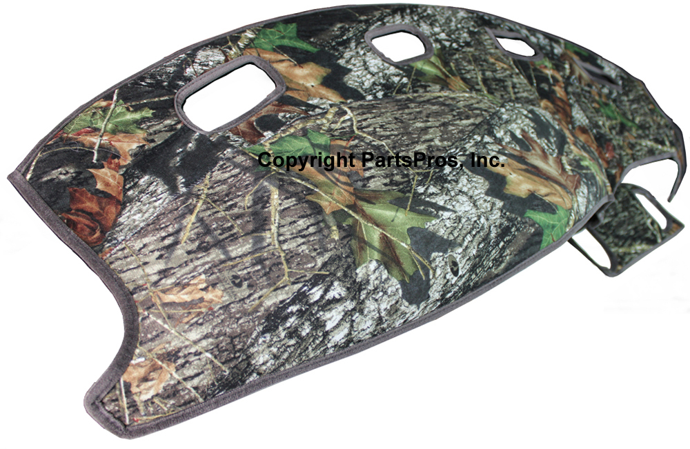 New Mossy Oak Camouflage Tailored Dash Mat Cover Fits 98