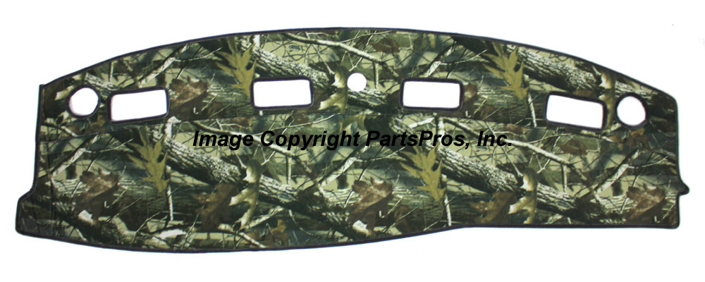 New Realtree Hardwoods Camo Camouflage Dash Mat Cover