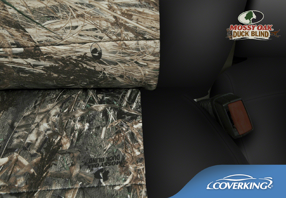 New Mossy Oak Duck Blind Camo Camouflage Seat Covers W